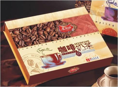 咖啡奶茶月【华美月饼】